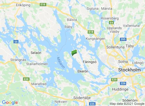 Adelsö runt med Hovgården.
