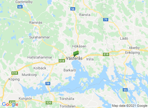 Västmanland från Västerås till Sala