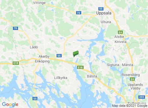 Vackra Grönsöö turistväg och parkernas stad Enköping.