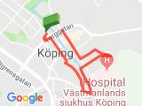 Köping - stadspromenad