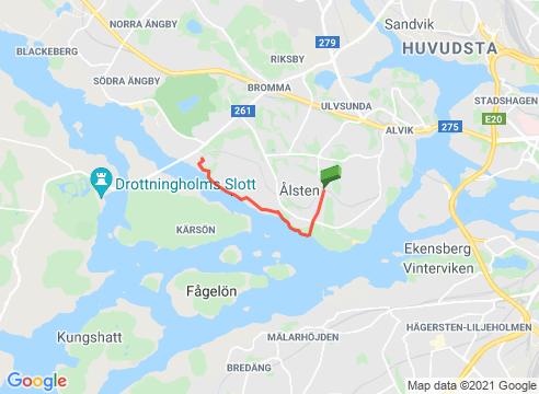 Grönviksvägen till Nockeby