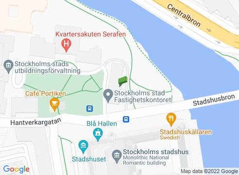 Stadshuset och Norr Mälarstrand.