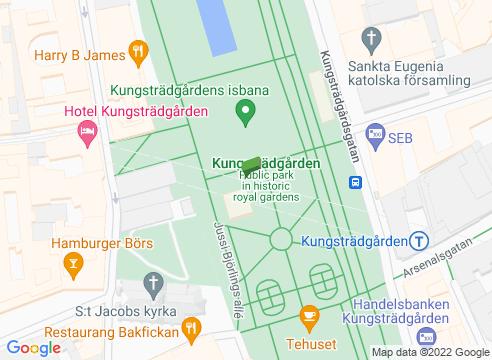 Riddarholmen och Helgeandsholmen.