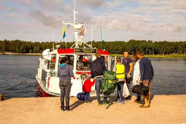 Mellersta båtluffarleden | Trippa